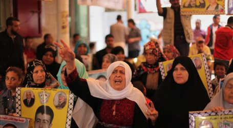 Palestinians Rally for Release of Prisoners in Israel