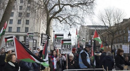 Calls For Demonstrating in Front of The Israeli Embassy in London
