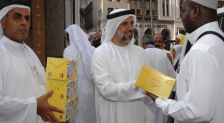 153,000 Meals Distributed to Pilgrims in Memory of Late Sheikh Zayed