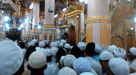 As Many as 222,444 Pilgrims Arrive in Madinah