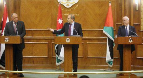 Egypt, Palestine, Jordan Call For a Restart of Peace Talk