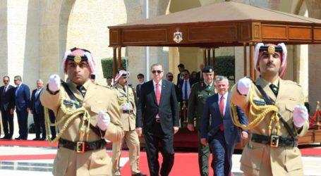 Erdogan's Visit to Jordan Stirs Israeli Concerns