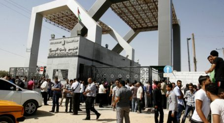 Rafah Crossing with Egypt Opens to Allow Gaza Pilgrims Out