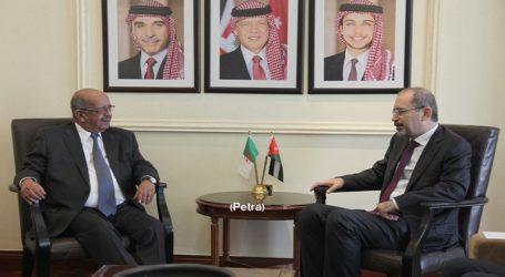 Jordan, Algeria FMs Say Palestine State is Key to Regional Security