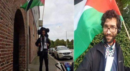 Swedish Activist Begins Long Trek to Palestine
