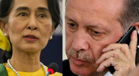 Erdogan, Suu Kyi Discuss Rohingya Plight Via Phone