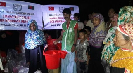Turkey giving 1,000 tons of aid to Myanmar Rohingya
