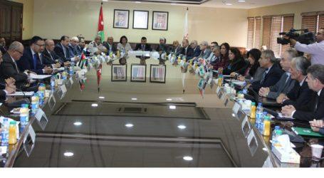 Joint Jordanian-Palestinian Committee Meets on Economic Ties
