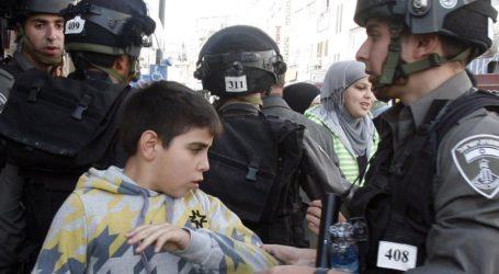 Israel Arrested 33 Palestinian Children in September