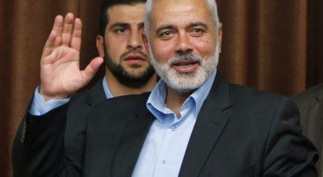 Hamas Chief Says Ready to Meet Palestinian President