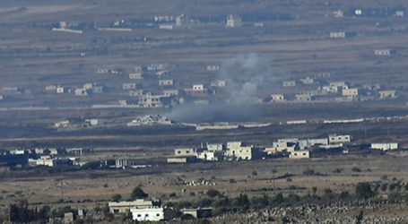 Israel Shells Several Targets in Syrian