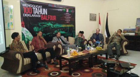 Indonesian Activists Demand for Apology from UK Goverment over Balfour Declaration