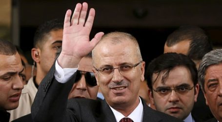 Palestinian Prime Minister Submits His Resignation