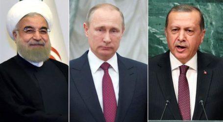 Putin to Host Rouhani and Erdogan in Sochi