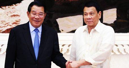 Duterte, Hun Sen Nominated for 2017 Confucius Peace Prize