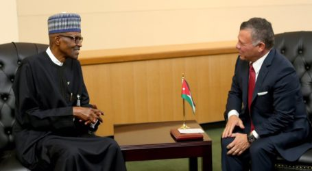 Jordanian King Meets with Presidents of African nations participating in Aqaba Meetings