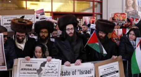 Hundreds in Washington Protest US Decision on Jerusalem
