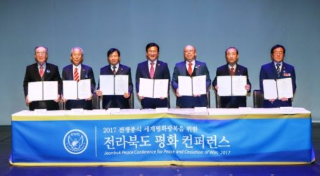 Local Community and International NGO Resolve on Governancefor Peace in Korea and Globe