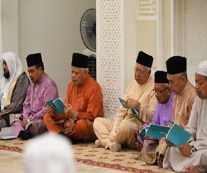 Najib Attends Tahlil Ceremony For Late Tun Razak