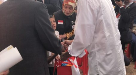 President Jokowi arrives at Cox`s Bazar, Reviewes Handling of Rohingya Refugees