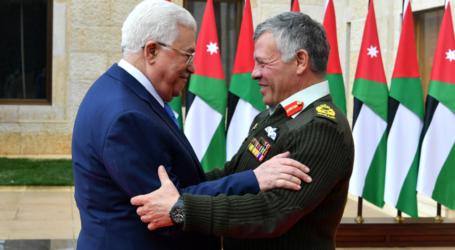 President Abbas, King Abdullah Discuss Implications of US Decision on Jerusalem