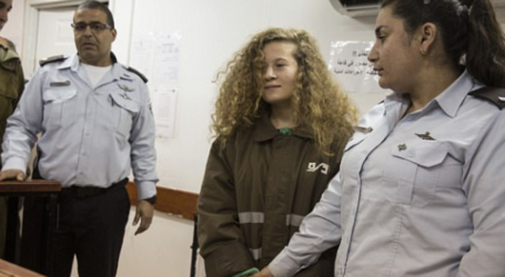 Palestinian Teen Ahed Tamimi to Face12 Charges at Israeli Court