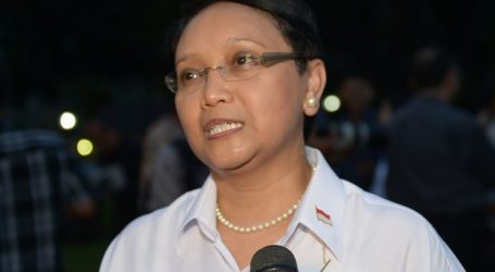 Minister of Foreign Affairs Retno Marsudi Arrives in Kabul