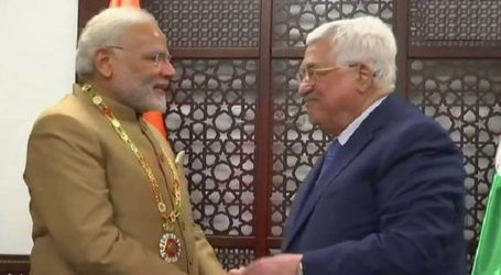 Palestinian President Reiterates Commitment to Peace Talks