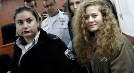 Israeli Court Jails Palestinian Teen Ahed, Mother for Eight Months