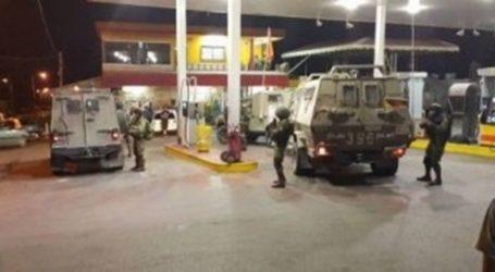 IOF Seizes CCTV Recordings From Gas Station in Tulkarem