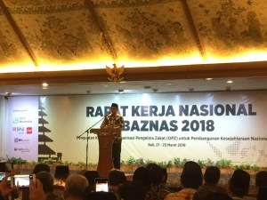 Indonesian National Zakat Agency Hold Annual Working Meeting