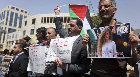 Palestinians Mark Prisoners' Day With Rallies Troughout West Bank, Gaza