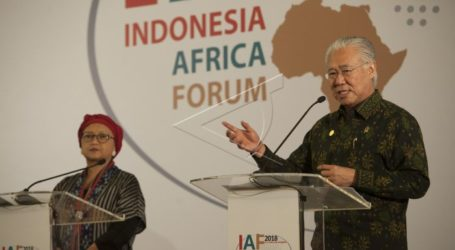 Trade Value Worth US$500 Million Recorded during Indonesia-Africa Forum