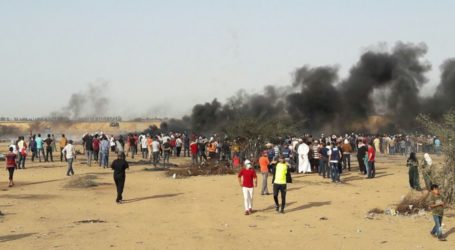 At Least 56 Gazans Injured by Israeli Gunfire During Protests