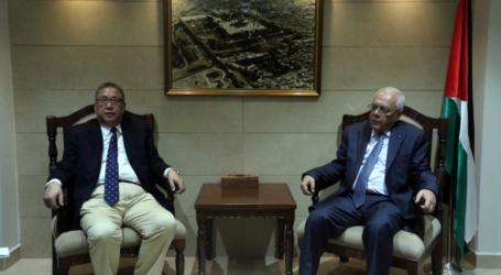 President Abbas Receives China's Mideast Envoy