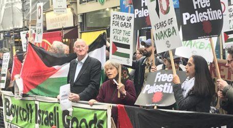 Londoners Rally on 70th Nakba Anniversary