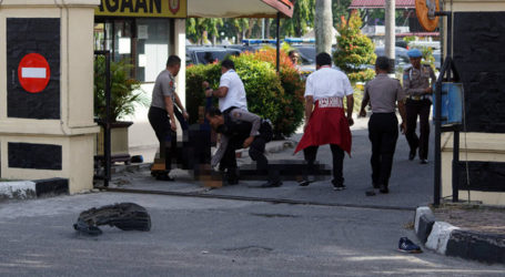 Four Men Attack Pekanbaru Police Station with Samurai Sword