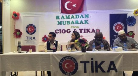 Turkish Aid Agency Holds Iftar Dinners in Ukraine, Suriname, and Albania