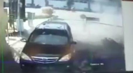 Police Headquarters Attacked in Surabaya, Indonesia
