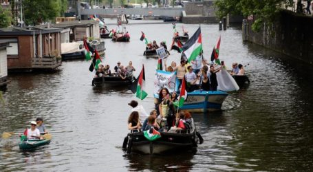 Netherlands: Activists Support Gaza-Bound Flotilla