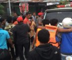 SAR Team Searches Victims of Sunk Vessel in Lake Toba