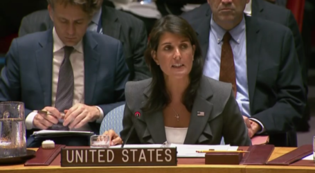 US Vetoes UNSC Resolution on Palestinians