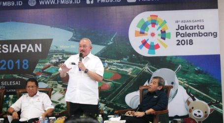 Ready to Held Asian Games 2018, Alex Noerdin Says Palembang's Zero Conflict
