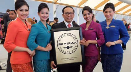 Garuda Named World`s Best Airline Cabin Crew 2018