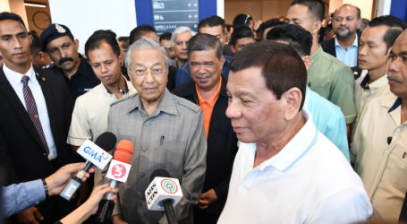 Duterte May Not Bring up Sabah during Meet with Mahathir
