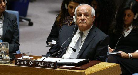 Palestinian Envoy Says US Peace Plan 'Useless'