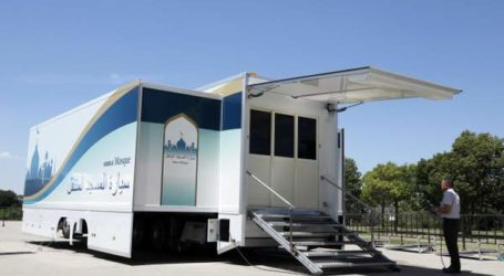 Japanese Company Creates Mobile Mosque to Welcome Muslims to 2020 Olympics