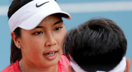 Indonesia Pockets Mixed Doubles Tennis Gold