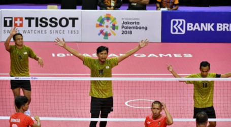 Malaysian Sepak Takraw Inter-Team Strikes Gold after 24 Years