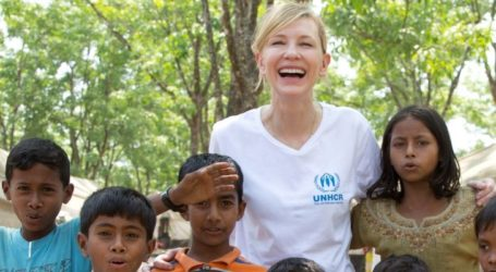 Cate Blanchett Asks for Help for Rohingya Refugees in Bangladesh